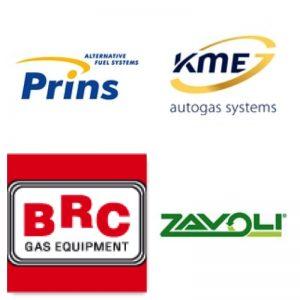 BRC, PRINS, KME, ZAVOLI, Газови системи за директно впръскване